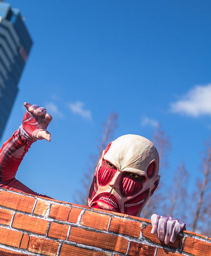 Attack on Titan cosplay at Comiket 83.