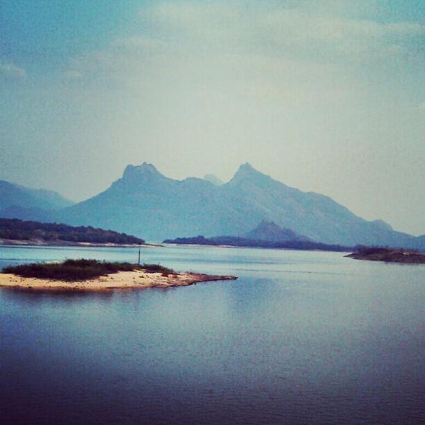 The lovely Malampuzha Dam, Kerala
