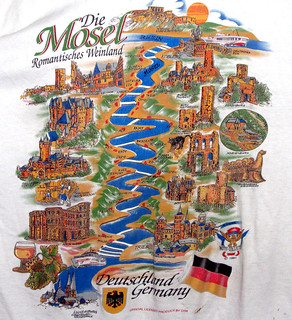 Mosel River on Shirt