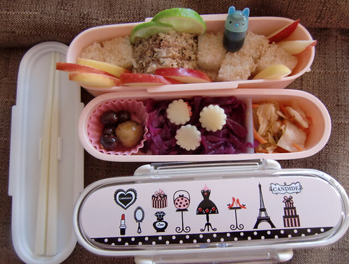 pretty pink paris bento