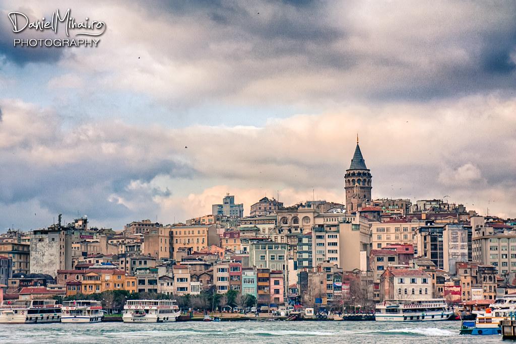 Galata tower, Istanbul by Daniel Mihai
