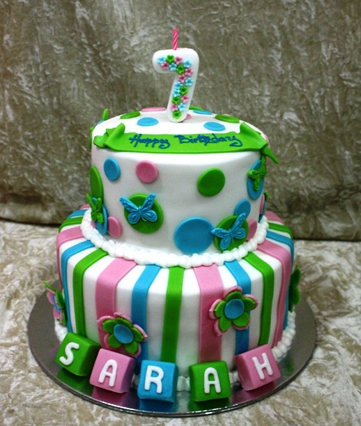 Cake Design For 7th Birthday Girl : 7th birthday cake Flickr - Photo Sharing!
