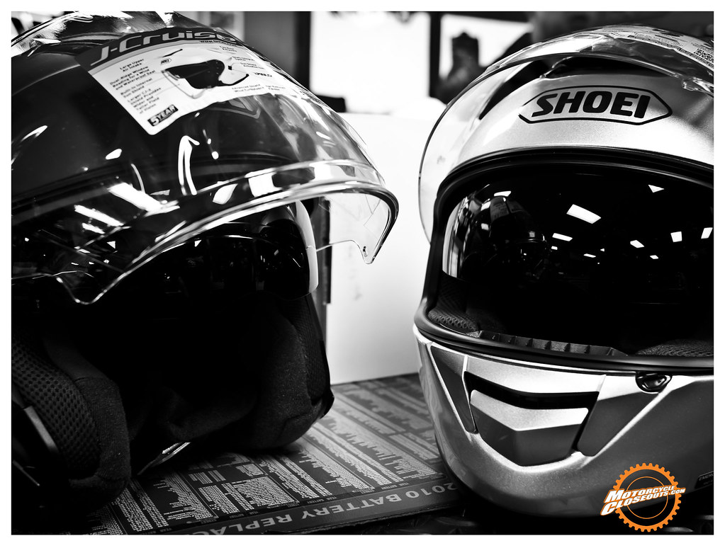Shoei J-Cruise and GT-Air helmets at MotorcycleCloseouts.com