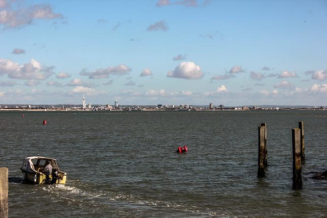 Portsmouth visto desde Ryde