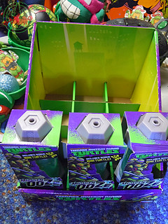 Nickelodeon  TEENAGE MUTANT NINJA TURTLES :: MUTAGEN OOZE iii / .. shelf display case  (( 2013 ))