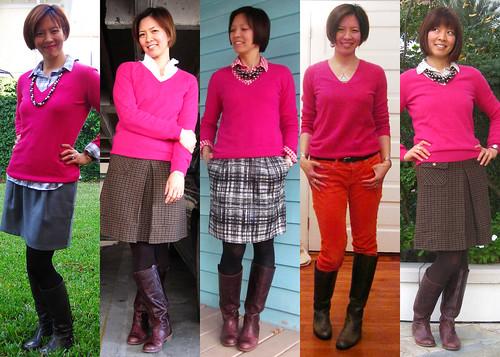 pink cashmere vneck 01
