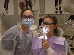 glasses, dentistry, person,