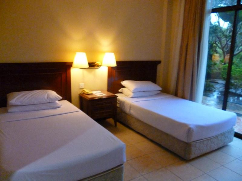 Twin room of Kudat Golf & Marina Resort