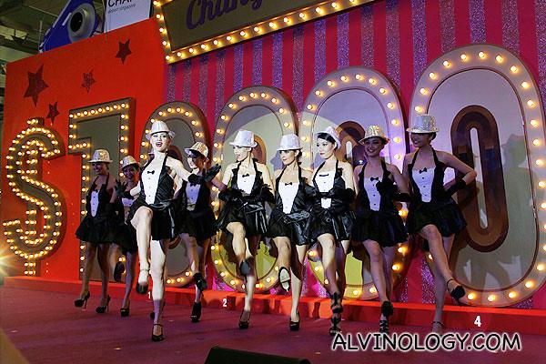 Changi millionaire dancers