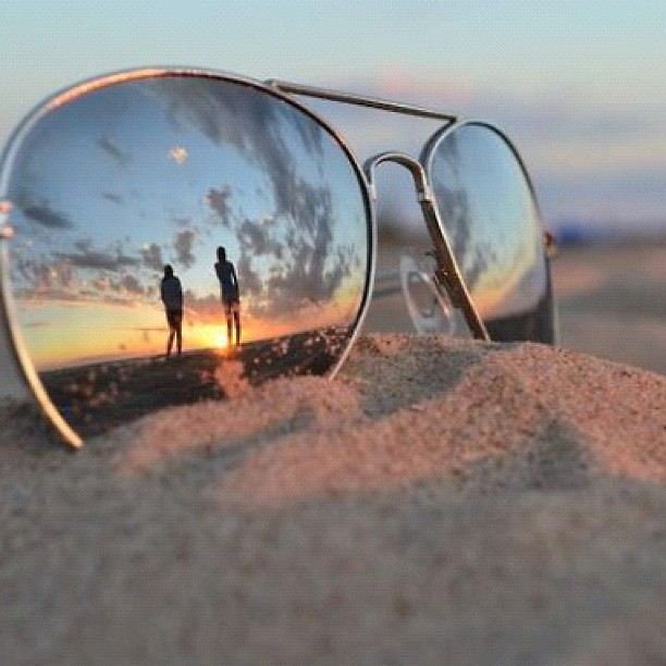 #sun #glasses #sunglasses #aviators #sunset #summer # ...