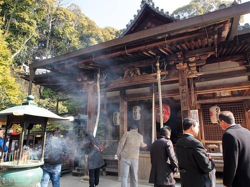 京都 金閣寺 不動明王