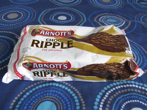 arnotts chocolate ripple cookies