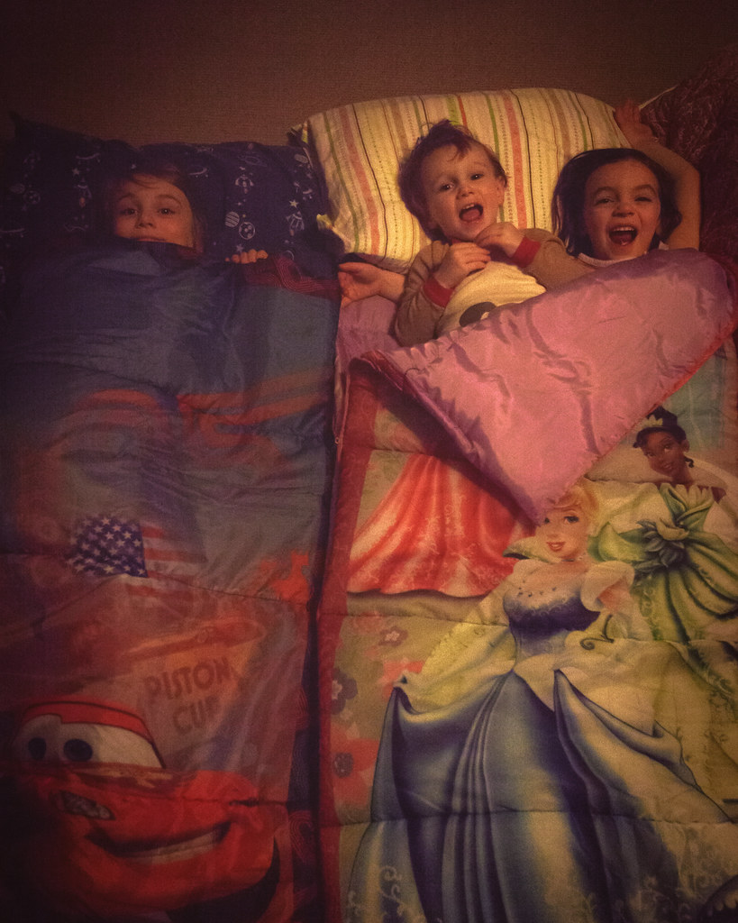4/52/Portrait - Sleepover!