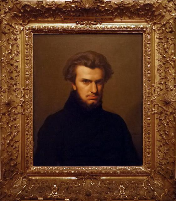 hippolyte flandrin portrait d 39 ambroise thomas 1834 mus e ingres de montauban tarn et garonne. Black Bedroom Furniture Sets. Home Design Ideas