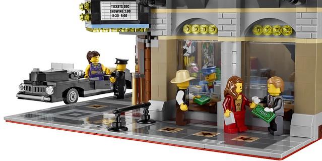 LEGO Creator Expert 10232 - Palace Cinema -Detail 11