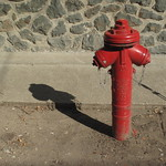 EGER - A Red Hydrant