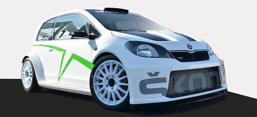 Skoda Citigo Rally Proto