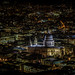 The Pixels and St Paul's - St Paul's Cathedral and London at night, viewed from The Shard by Goodbye Flick'r