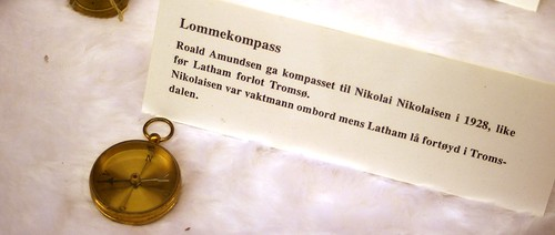 amundsen\'s kompass