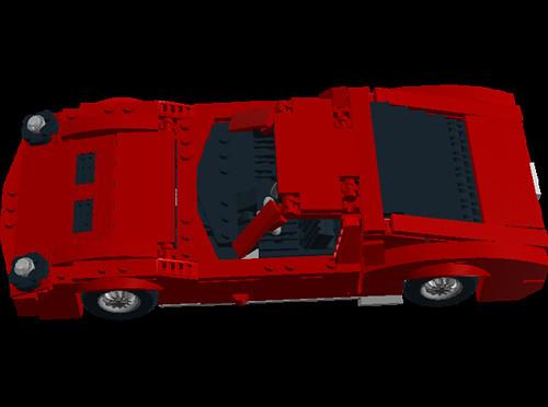 Lamborghini Miura P400SV top