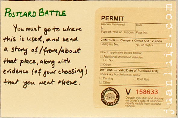 #2.134 - Postcard Battle!