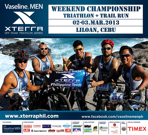 the running enthusiast Vaseline Men XTERRA 1