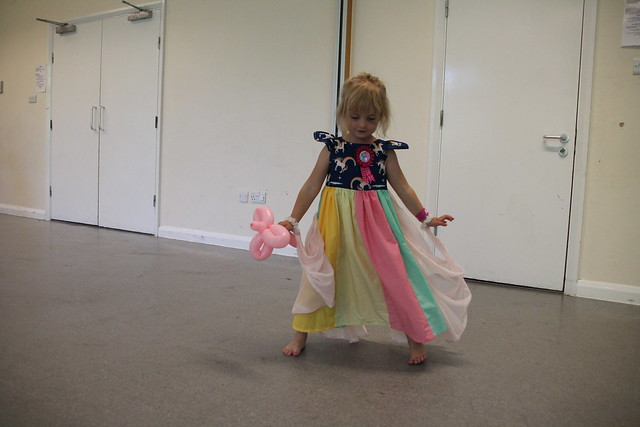 D 5 party unicorn butterfly princess dress