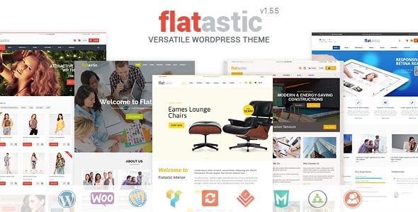 Flatastic v1.6.0 - Versatile WordPress Theme