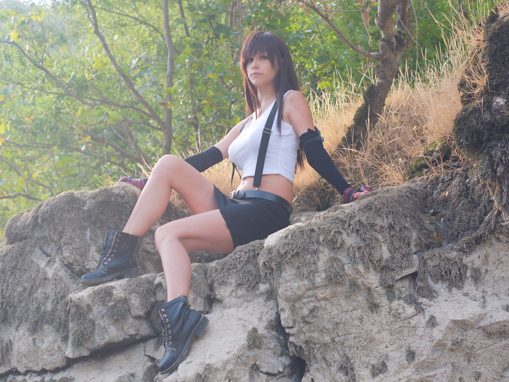 related image - Shooting Tifa Lockhart - Final Fantasy - Gorges de l'Hérault - 2016-08-17- P1520545