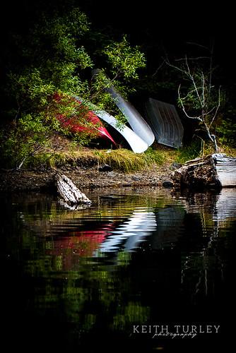 Canoe Reflections