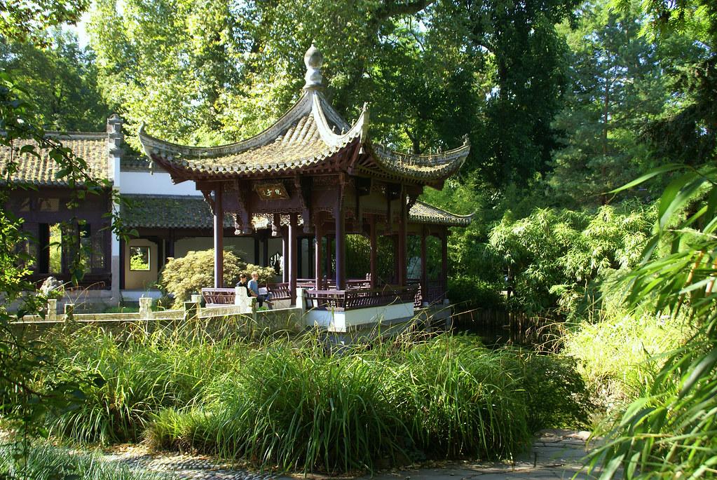 Frankfurt Chinesischer Garten Spiegelpavillon Chinese G Flickr