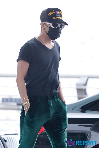 Big Bang - Incheon Airport - 26jun2015 - TV Report - 08