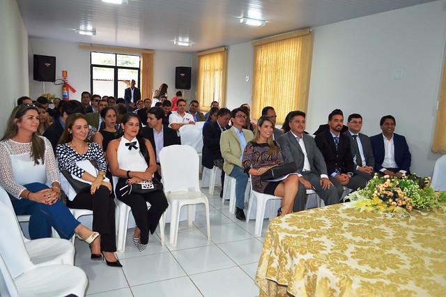 Ato público em solidariedade a juiz reúne dezenas de Magistrados em São Domingos