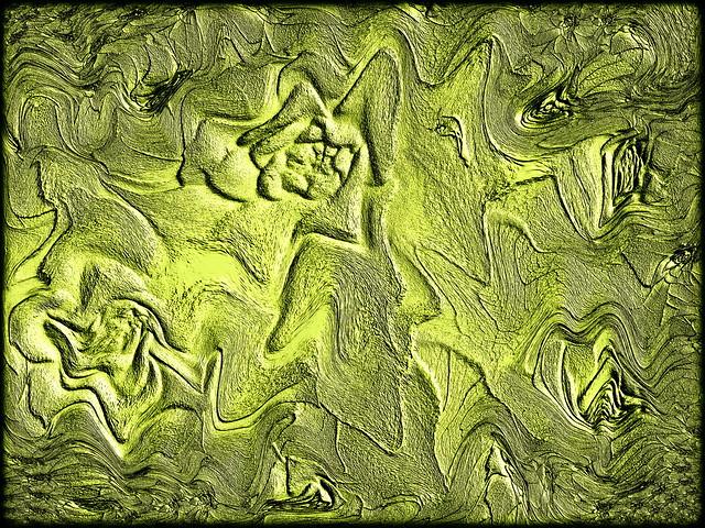 Pflanzen - Flach-Relief - mit Gimp erstellt ! - Wünsche Euch Allen ein schönes Spätsommer Wochenende !