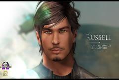 -Labyrinth- Russell Omega Skin Applier (Logo) Advert