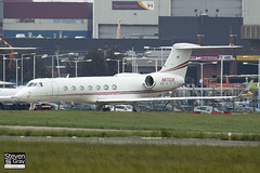 N870CM - 5076 - Private - Gulfstream Aerospace G-V-SP Gulfstream G550 - Luton - 120518 - Steven Gray - IMG_1698