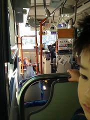 ハチ公バスにて 2012/12/9