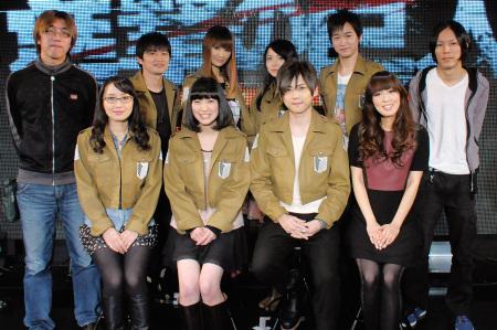 121210(1) – 電視動畫《進撃的巨人》發表8人聲優陣容,「日笠陽子」演唱本片ED曲、2013年出道為歌手! (2/3)