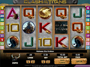 Clash of the Titans slot game online review