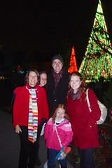 Garden Lights Holiday Nights at the Botanical Gardens by PrincessKaryn
