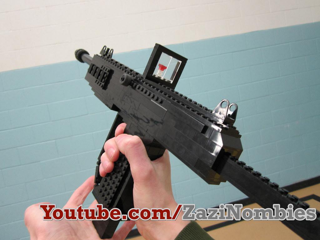Msmc Sub Machine Gun The Lego Msmc Sub Machine Gun Zazinombies