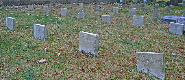 Civil War Grave stones