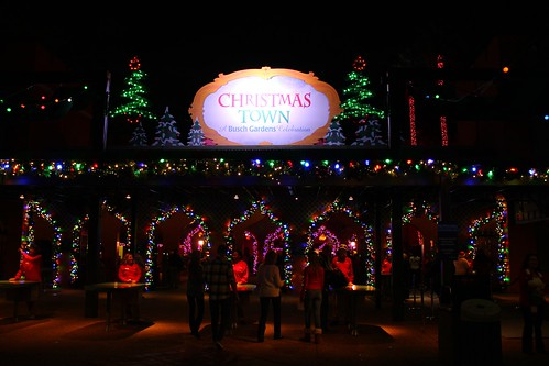 First Ever 39 Christmas Town 39 Shines At Busch Gardens Tampa