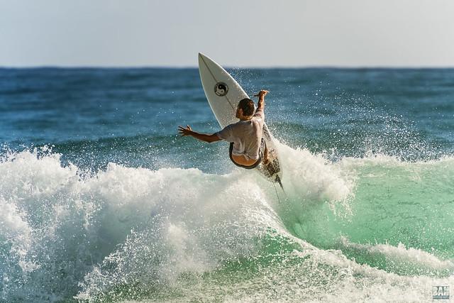Surfing Burleigh #13