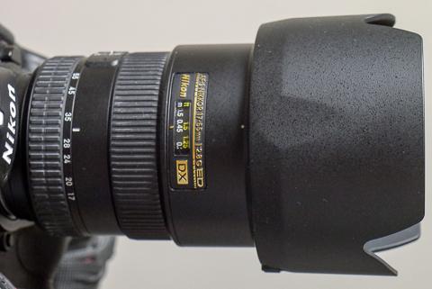 AF-S DX Nikkor ED 17-55mm F2.8Gレンズ
