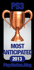 PS.Blog Game of the Year 2012 - PS3 Most Anticipated Bronze