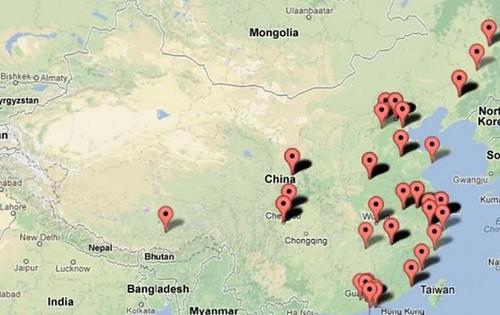 GFW map