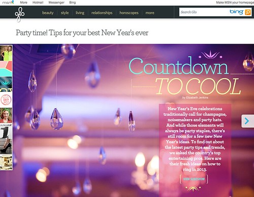 Countdown to Cool, msn.com feature