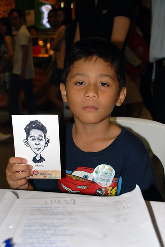 digital live caricature sketching for iCarnival (photos) - Day 2 - 71