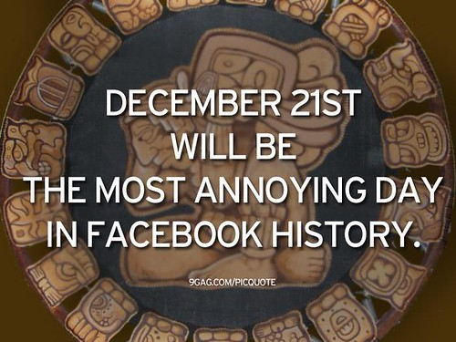 December 21st will be the most annoying day in Facebook history.